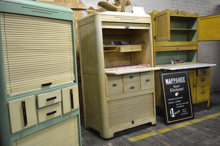 Non Coppes Hoosier Cabinets