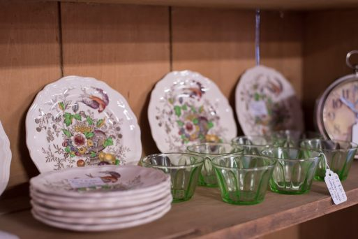 Dutch Lady Antiques Glassware and China