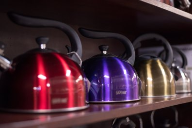 Teapot and More Tea Kettles