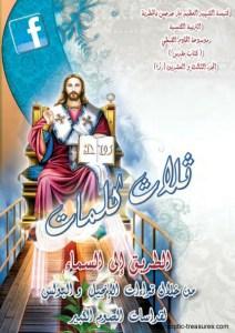 غلاف ثلاث كلمات - الطريق إلى السماء 2013 - د.أنسي نجيب سوريال.jpg