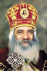 صورة البابا شنوده الثالث