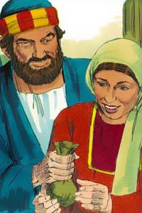 حنانيا وسفيرة
