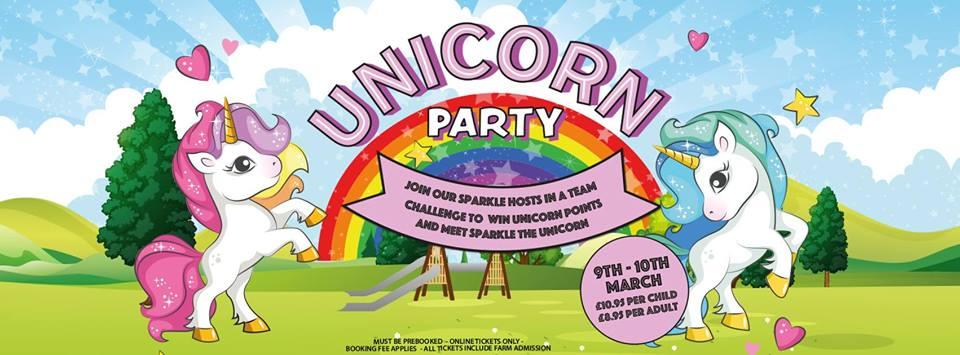 unicorn party at farm