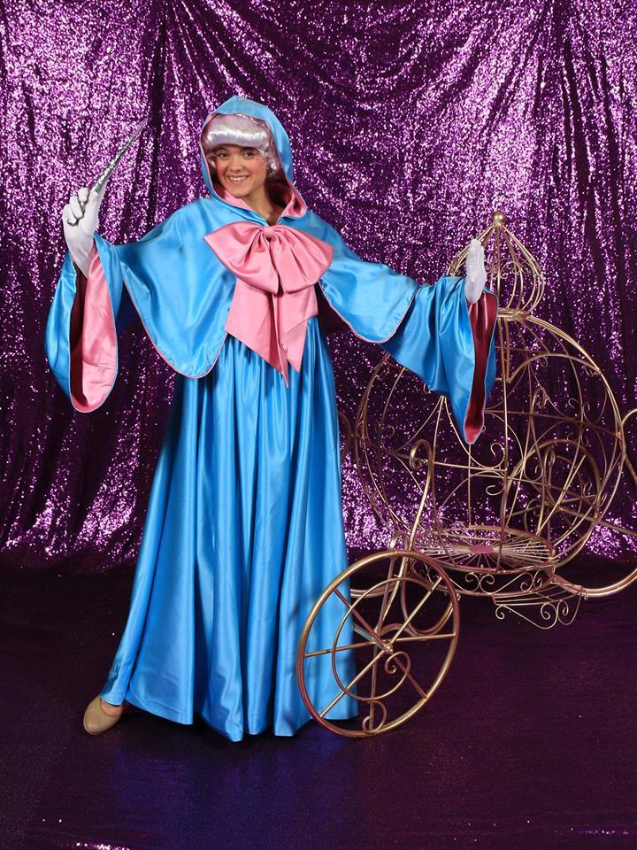 fairy godmother character, bibbidi bobbidi experience