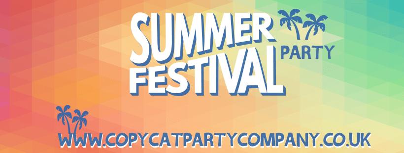 summer festival party, copycat festival party service