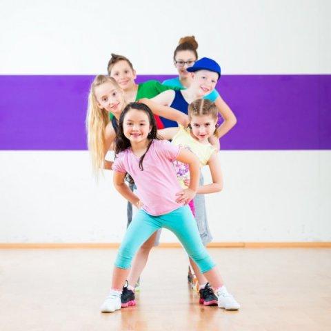 dance blast party, children dancing, copycat dance party
