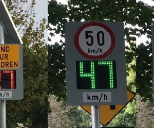 Utility of RADAR Feedback Signs and Variable Message Boards