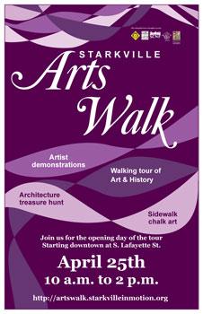 Starkville Arts Walk Poster
