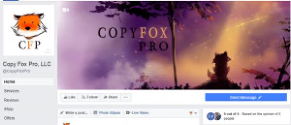 Copy Fox Pro Social Media Agency Digital Marketing Digital Media Copywriter Copyeditor Content Creation Social Media Marketer Social Media Manager Copy Fox Pro By Laurrel Allison