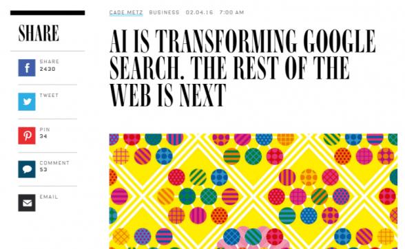 AI Transforming Google