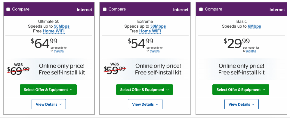 Example of the anchoring effect for pricing and copywriting