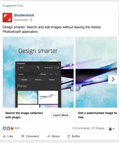 creative carousel ad