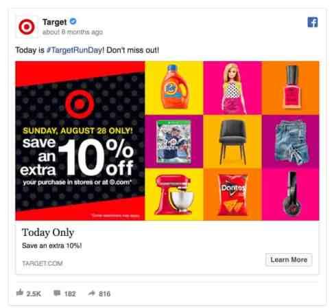targetrun target facebook ad