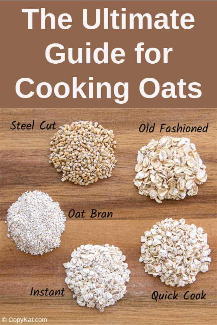 how to cook any kind of oatmeal the