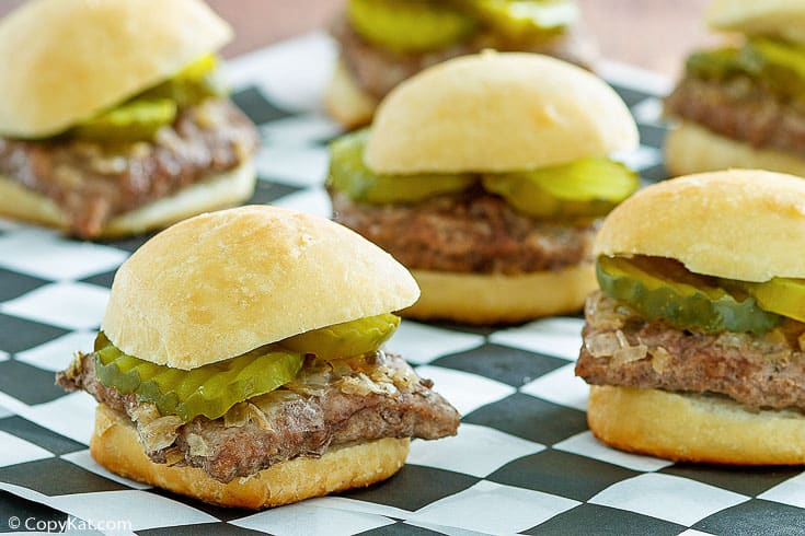 white castle hamburgers copykat recipes