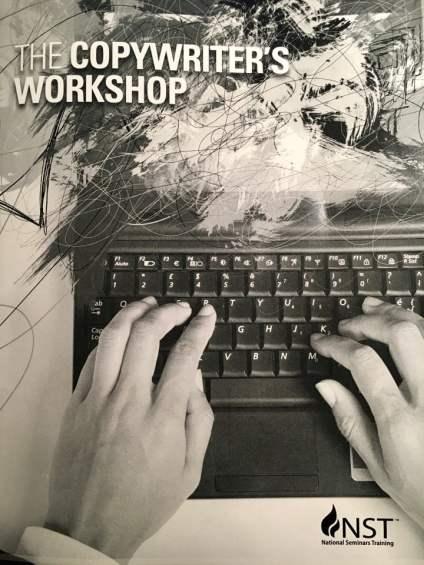 Image of National Seminars Training Two-Day Copywriter's Workshop workbook