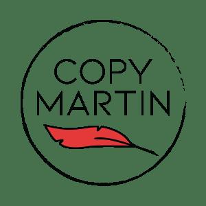Circular Copy Martin Logo red