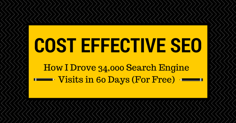 Cost Effective SEO Case Study Header Image