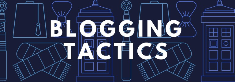 Blogging Tactics Header