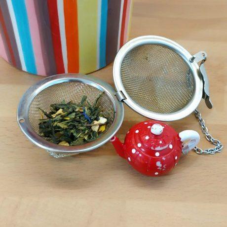 Té verde en hojas