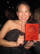 minling chuang winning award for product of the year