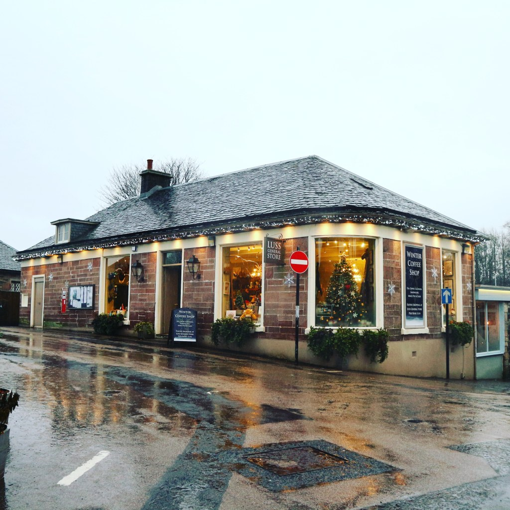 Luss General Stores in Winter