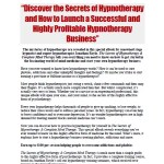 hypnotherapy sales letter