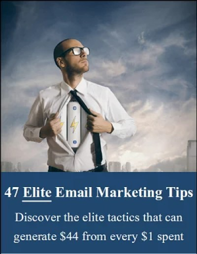 47 Elite Email Marketing Tips small