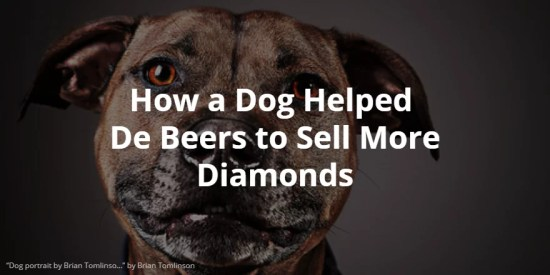 dog and de Beers