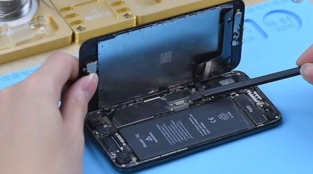 démonter le téléphone