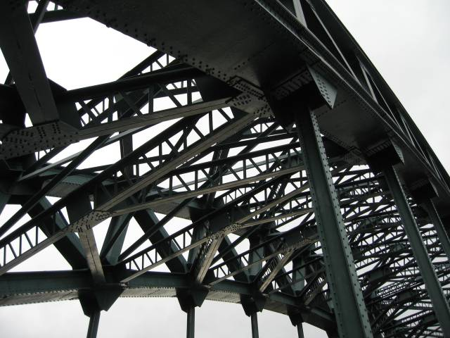 Tyne Bridge latticework