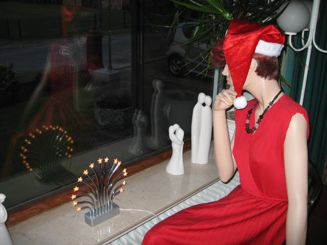 Christmas Mannequin
