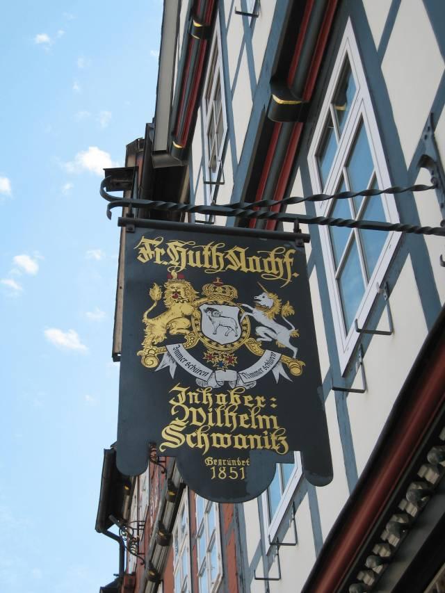Signage, Celle