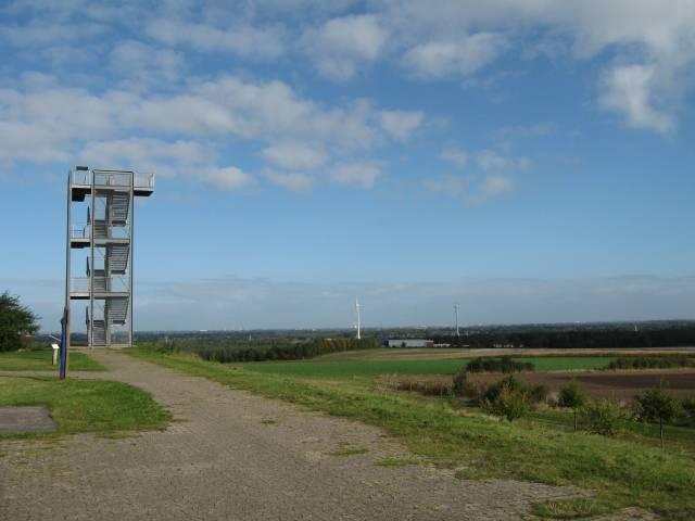 Syke Hoher Berg - View across Bremen