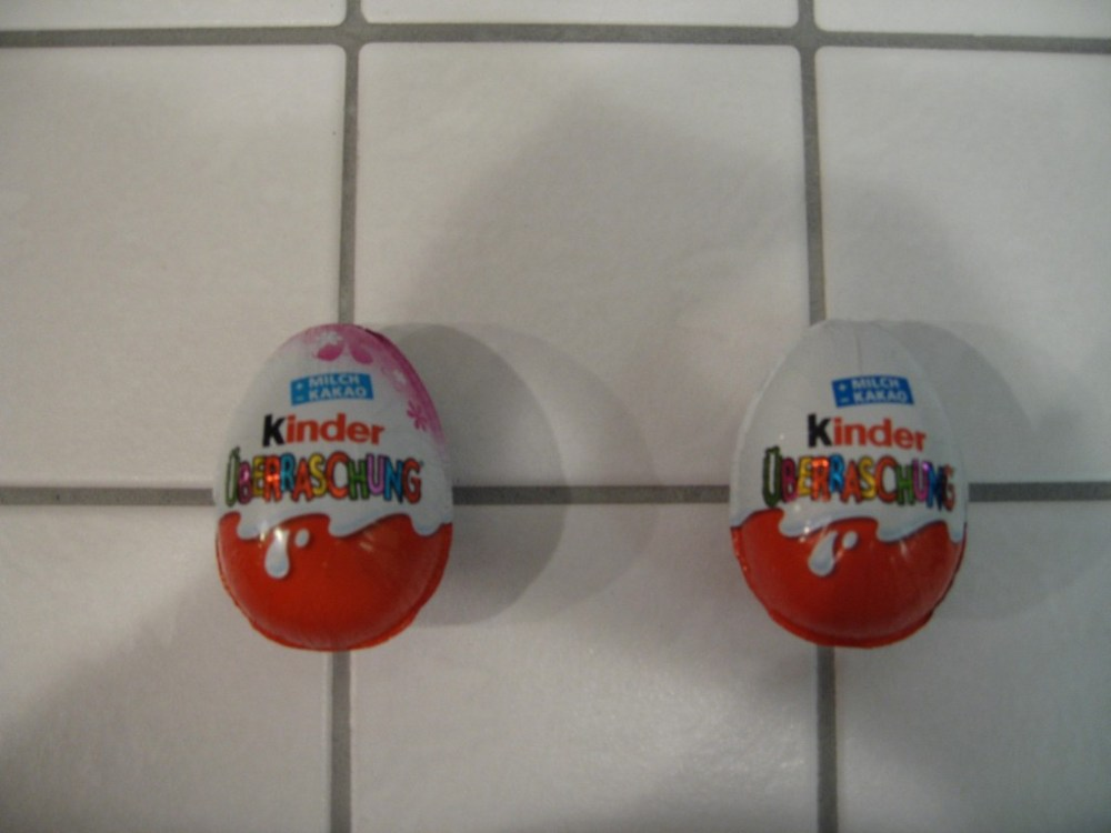 Gendering and Kinder Surprise Eggs (2/2)