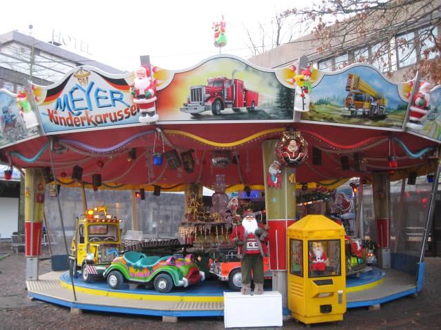 Vechta Christmas market merry-go-round