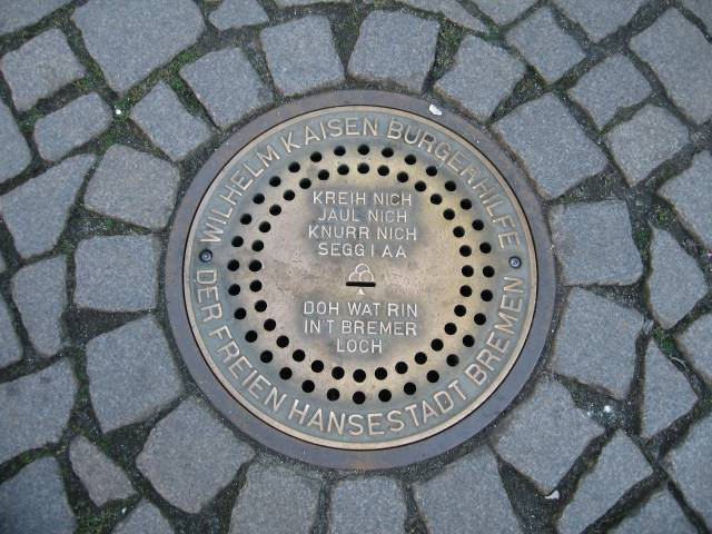 Bremen donation manhole
