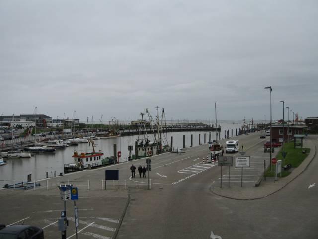 Bensersiel harbour