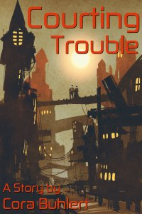 Courting Trouble by Cora Buhlert