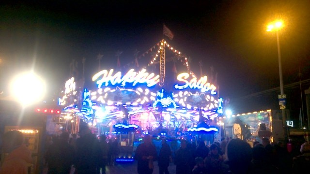 The Happy Sailor ride, built in 1979 and still a Freimarkt favourite.