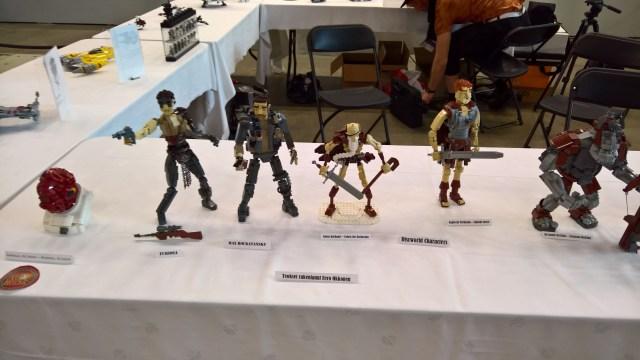 Legos display at WorldCon 75
