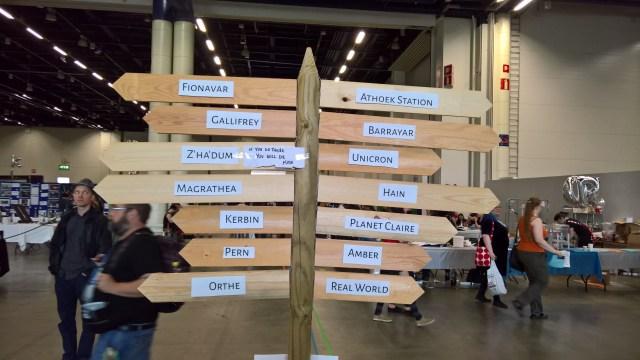 WorldCon 75 signposts
