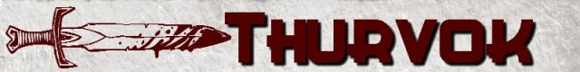 Banner Thurvok
