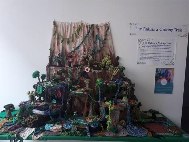 Finished Raksura Colony Tree