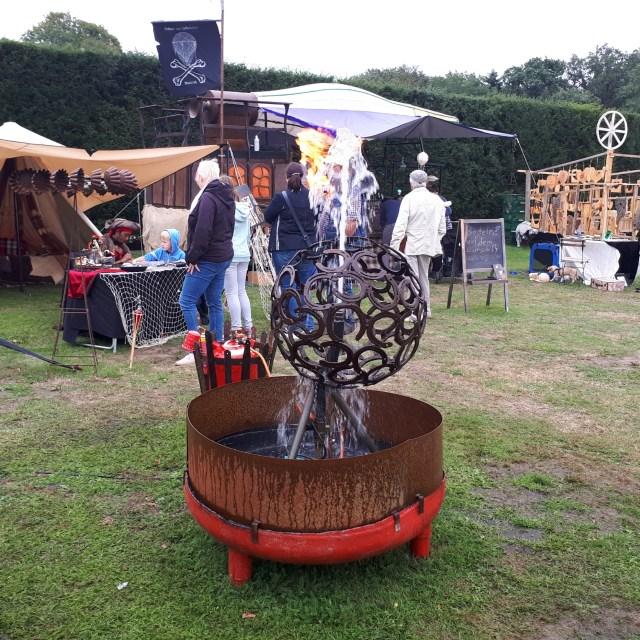 Steamfest Papenburg fountain