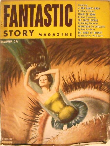 Fantastic Story Magazine 1954
