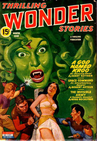 Thrilling Wonder Stories, Winter 1944