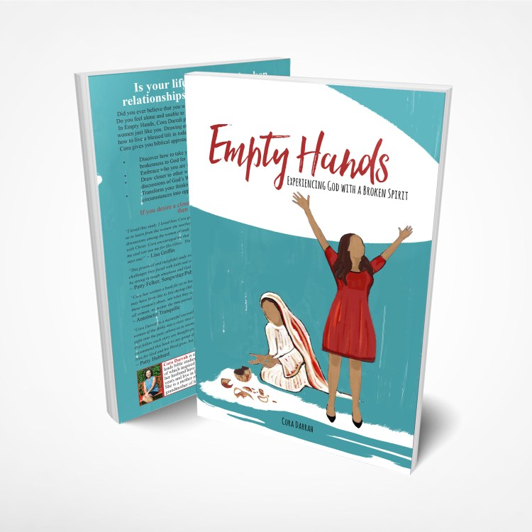 Empty Hands by Cora Darrah is a devotional book about the women of the Old Testament of the Bible addressing women of today to guide you to cope with the struggles of 21st-century life. Get the most out of Empty Hands in a group Bible study as you gain wisdom and inspiration during discussions—or read it by yourself during personal Bible study time to self-reflect and grow spiritually.