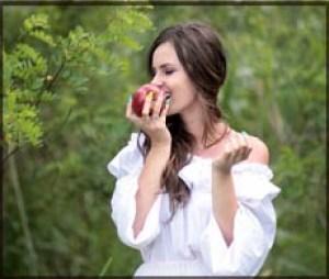 りんご,甘いもの,糖分