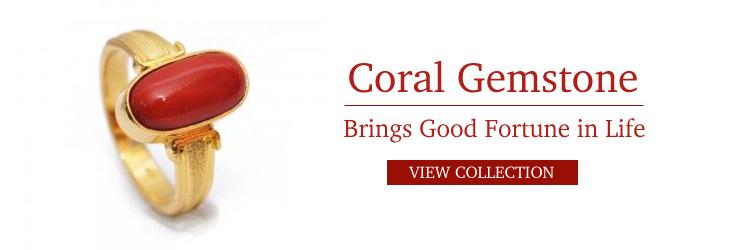 natural coral gemstone